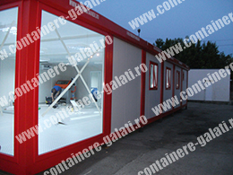 container modular second hand pret Vrancea